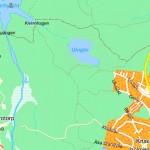 Ulvsjön - karta