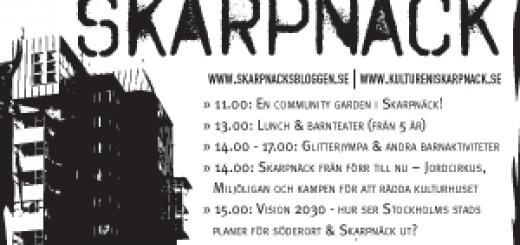 Öppna Skarpnäck - affisch