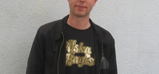 Älska Bagis - Ante med sin tshirt