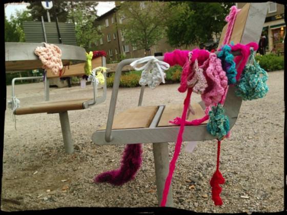 Graffitti Knitting 7