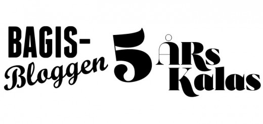Bagisbloggen 5 årskalas!