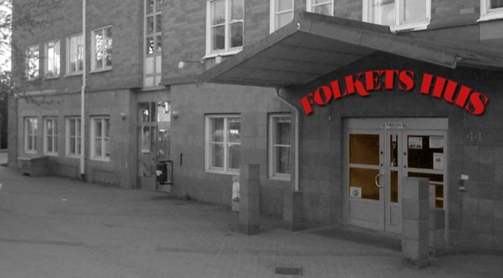 Kanske Folkets hus behöver en ny entré? (bild manipulerad av Bagisbloggen)