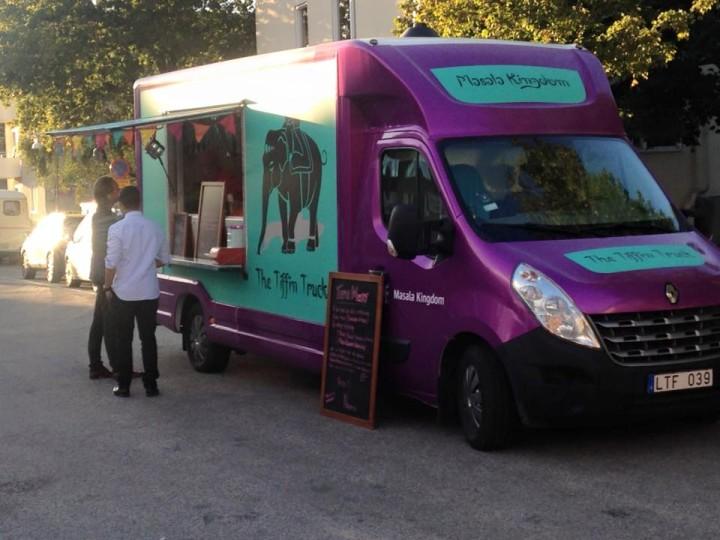 Masala Kingdom, the Tiffin Truck (foto Karin Forsberg, publicerad på Facebook).