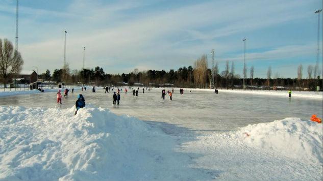 Skarpnäcks sportfält (foto: Stockholms stad)