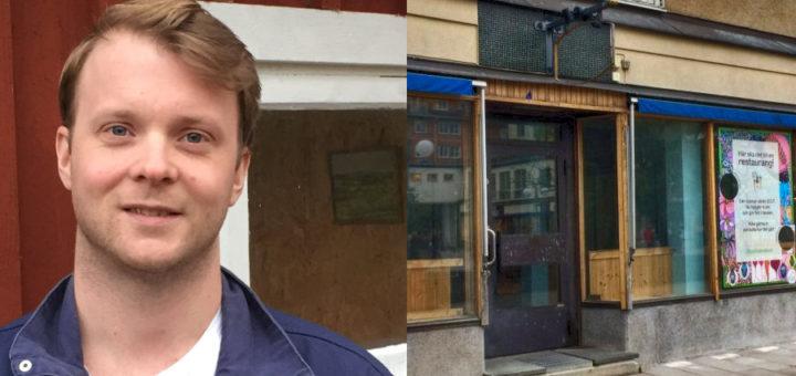 Axel Hansson blir den som öppnar Bagarmossens ny restaurang!